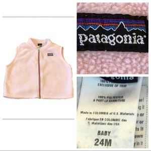 Patagonia Baby 24M Zip Fleece Jacket